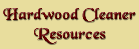 Hardwood Cleaner Resources - A Division of Floor Resources LLC