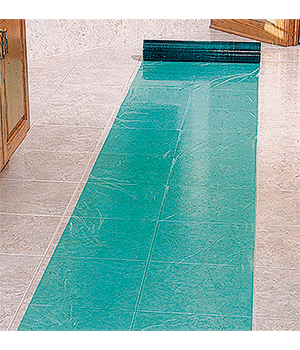 Plastic Floor Covering Self Adhesive Floor Protection