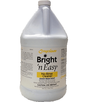 Congoleum Bright-N-Easy Vinyl Floor Cleaner Gallon