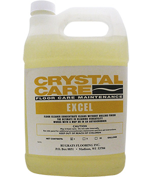 Crystal Care Excel Cleaner Gallon