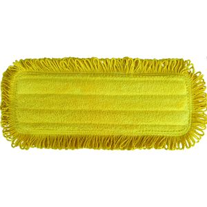 5 x 14 Microfiber Dust Mop Pad Yellow