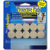 Light Tan Felt Pads - .75 Inch