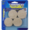 Light Tan Felt Pads - 1.5 Inches